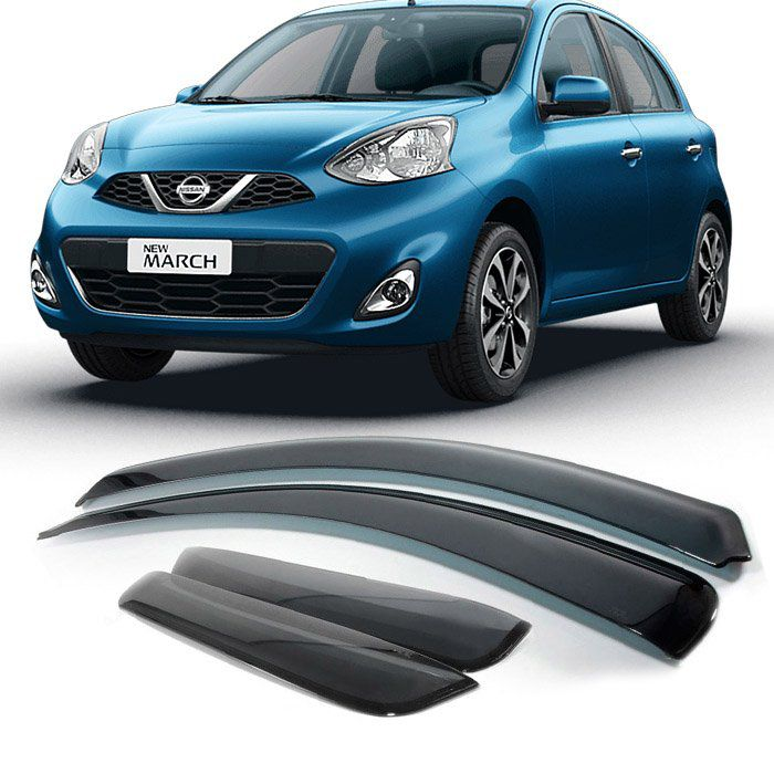 Calha De Chuva - Nissan March 2011 2012 2013 2014 2015 2016 2017