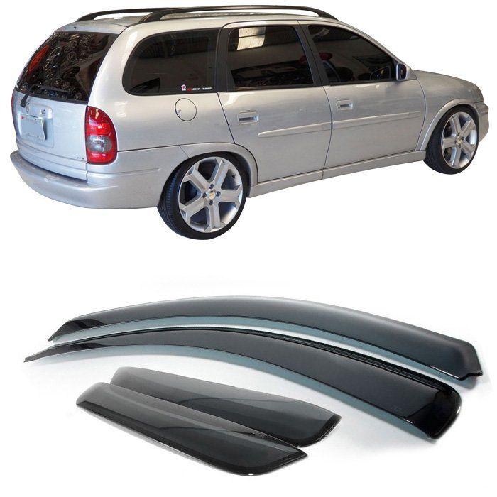 Calha Defletor Chuva Corsa Sedan / Wagon 1995 1996 1997 1998 1999 2000 2001