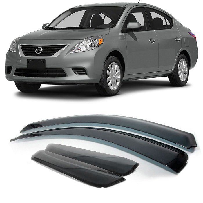 Calha Defletor Chuva Nissan Versa 2011 2012 2013 2014 2015 2016 2017 2018 2019
