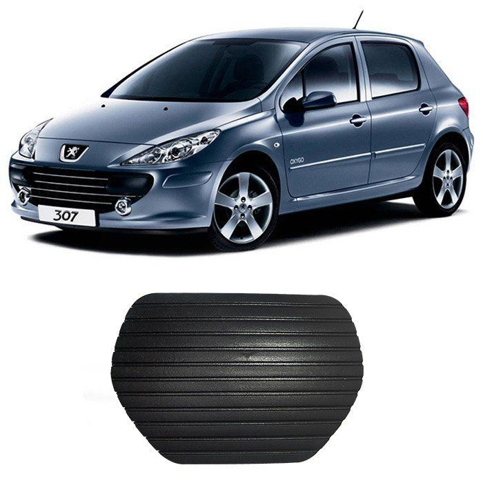 Capa Pedal Peugeot 307 308 408 - Automático - Todos