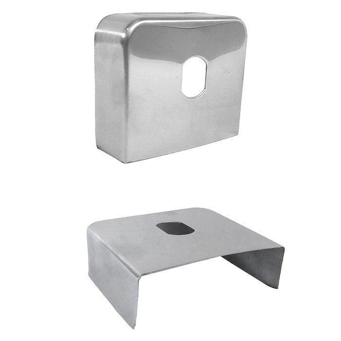 Capa Protetora para Engates - Inox Cromada - 100mm