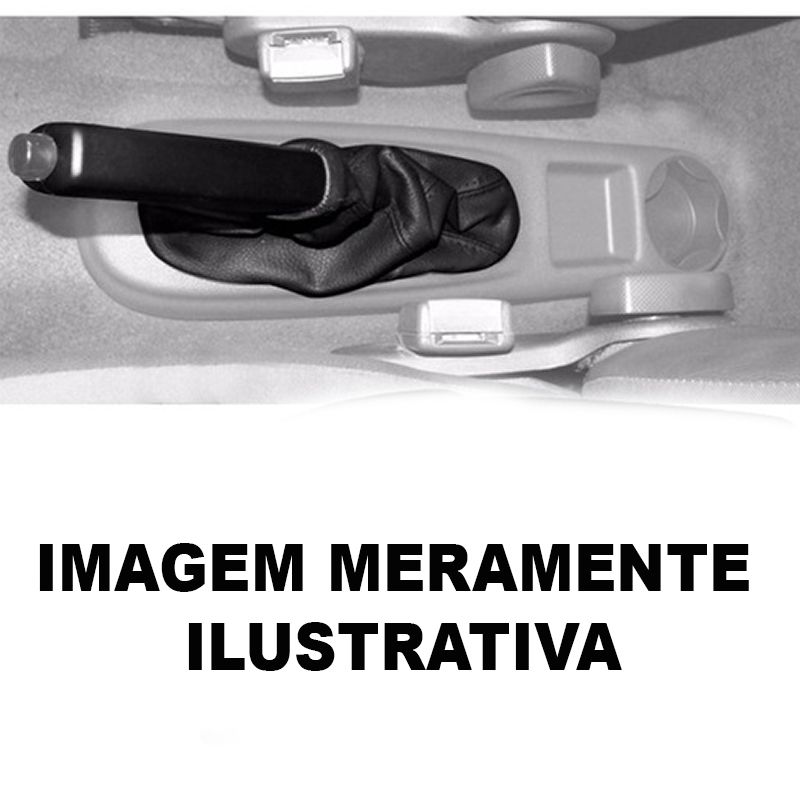 Coifa da Alavanca do Freio de Mão Gol Parati Saveiro G3 - 2000 2001 2002 2003 2004 2005