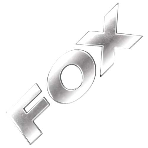 Emblema Adesivo - Fox 2012/... - VW - Cromado