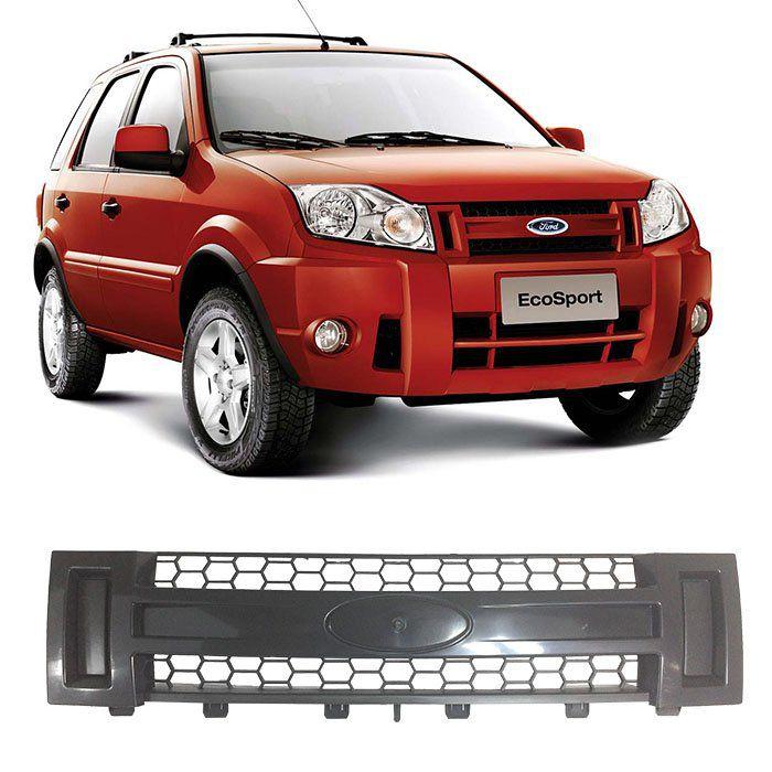 Grade Dianteira Radiador Ecosport 2008 2009 2010 2011 2012 Preta