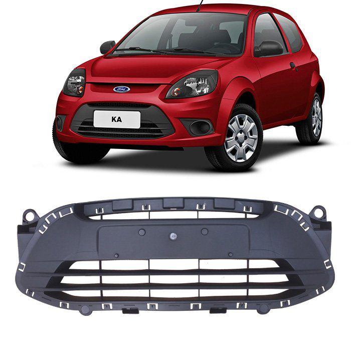 Grade Inferior Central Do Parachoque Ford Ka 2011 2012 2013