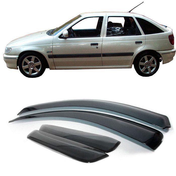 Jogo Calha Chuva Defletor - Pointer 1994 1995 1996 4 Portas