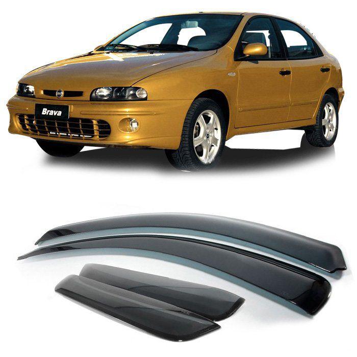 Jogo De Calha De Chuva - Fiat Brava 1999 2000 2001 2002 2003