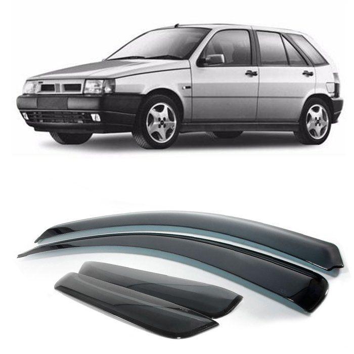 Jogo De Calha De Chuva - Fiat Tipo 1992 1993 1994 1995 1996 1997 1998 1999