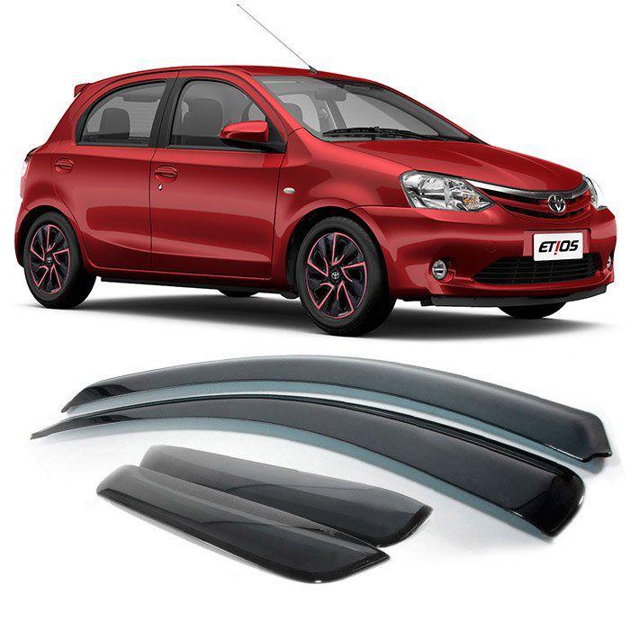 Jogo De Calha De Chuva Toyota Etios - 2012 2013 2014 2015 2016 2017 2019