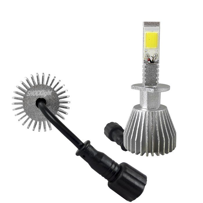 Kit Super Led Lâmpada H1 6000k Super Branca Efeito Xenon