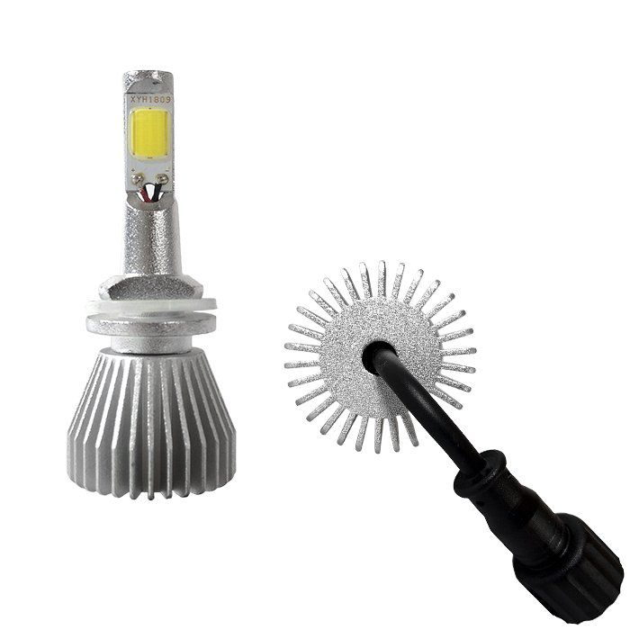 Kit Super Led Lâmpada H27 6000k Super Branca Efeito Xenon