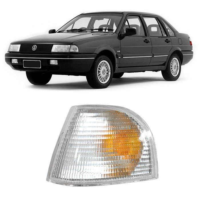 Lanterna Dianteira Pisca Santana - 1991 1992 1993 1994 1995