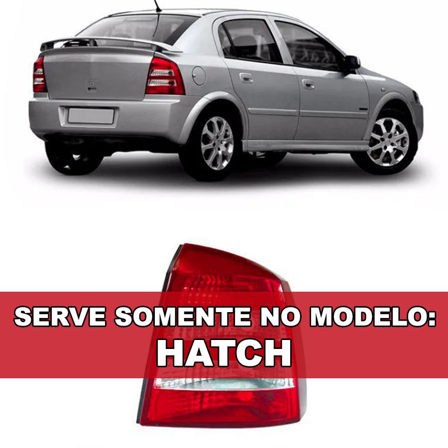 Lanterna Traseira Astra Hatch 2003 2004 2005 2006 2007 2008 2009 2010 - Bicolor