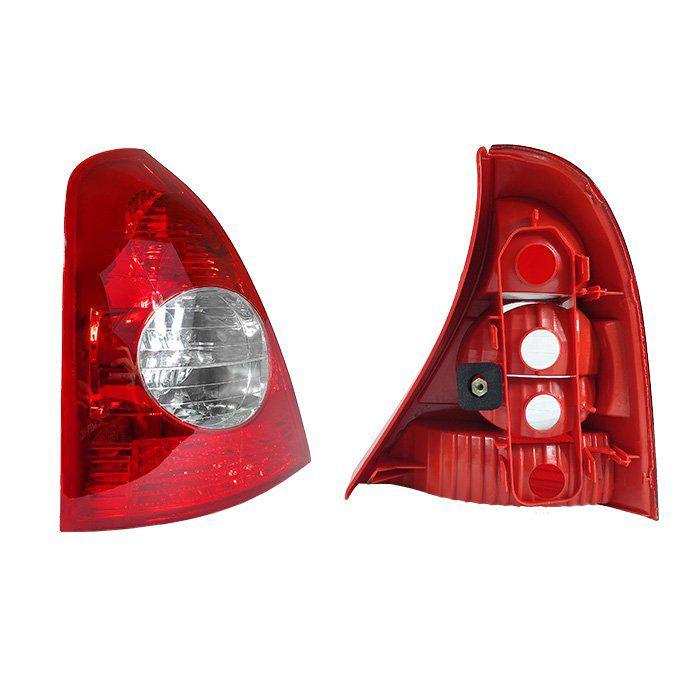 Lanterna Traseira Clio Hatch 2003 2004 2005 2006 2007 - Bicolor