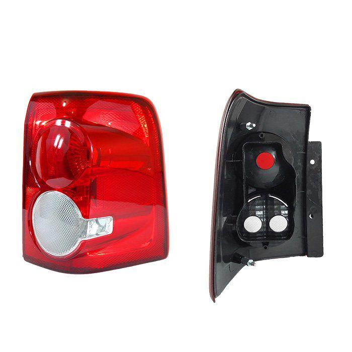 Lanterna Traseira Ecosport 2008 2009 2010 2011 2012 - Bicolor