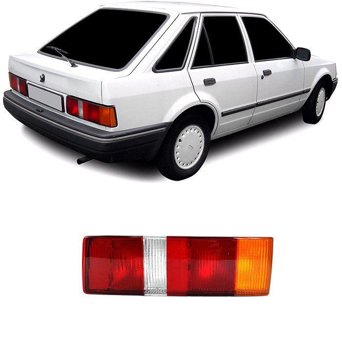 Lanterna Traseira Escort 1987 1988 1989 1990 1991 1992 Hobby - Tricolor