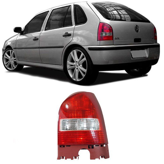 Lanterna Traseira Gol G3 1999 2000 2001 2002 2003 2004 2005