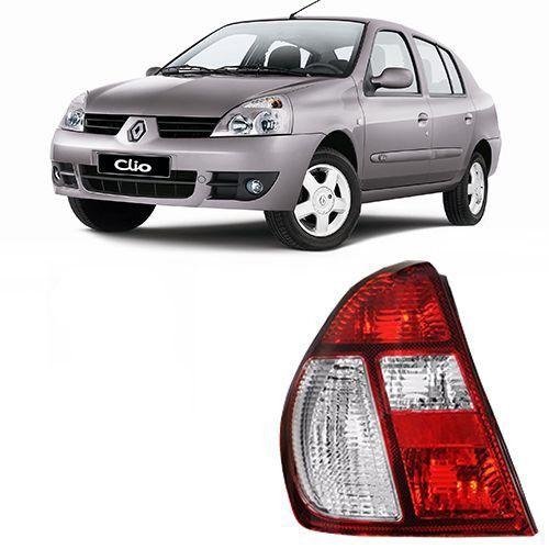 Lanterna Traseira Original Clio Sedan - 2004 2005 2006 2007 2008 2009 2010 2011 - Bicolor