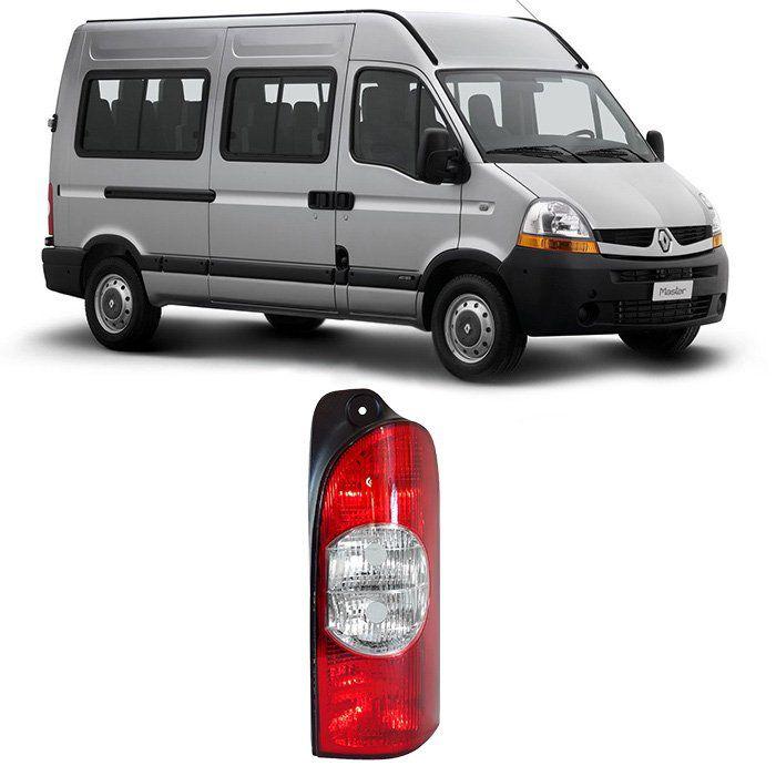 Lanterna Traseira Renault Master 2007 2008 2009 2010 2011 2012