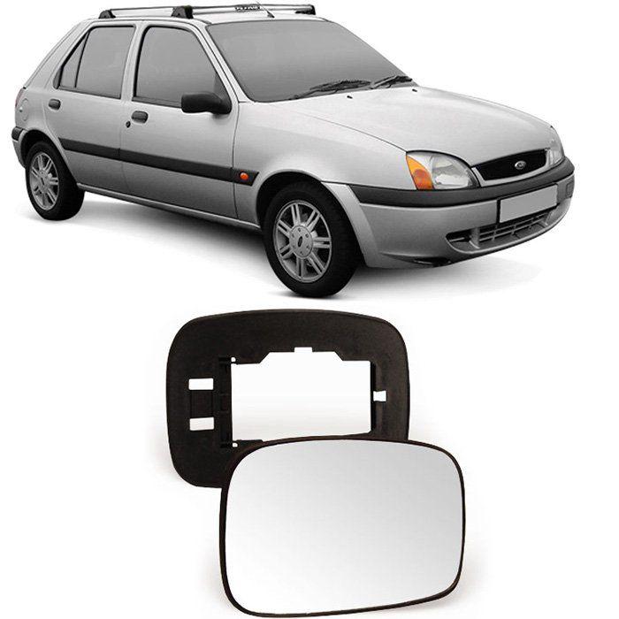 Lente Espelho Retrovisor Fiesta Escort 1996 97 98 99 2002 - Subconjunto