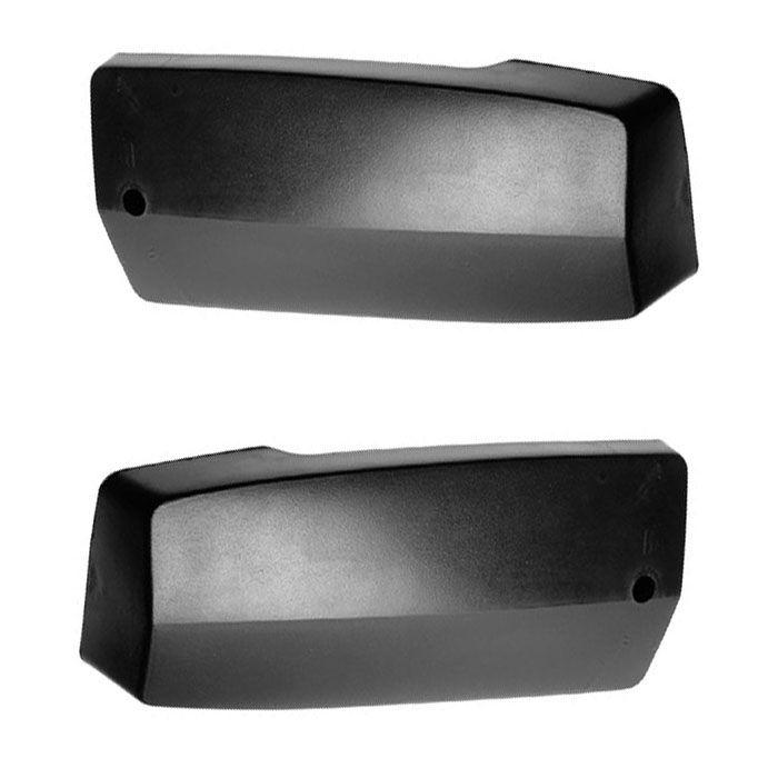 Ponteiras de Para-Choque - Brasilia, Variante - Dianteira / Traseira - Preta