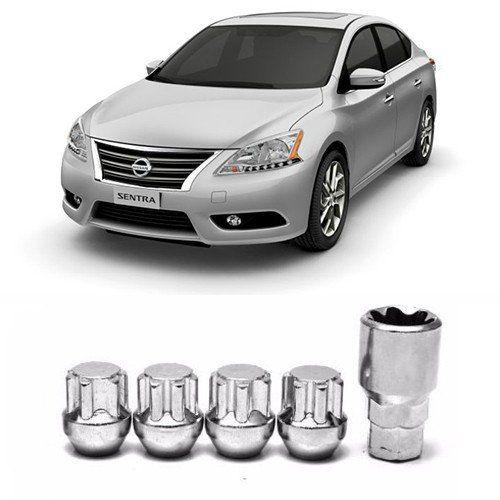 Porcas para Rodas Anti Furto Nissan Sentra 2004 2005 2006 a 2017 2018 2019