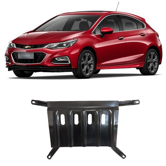 Protetor de Carter Cruze 2017 2018 2019 - Hatch Sedan