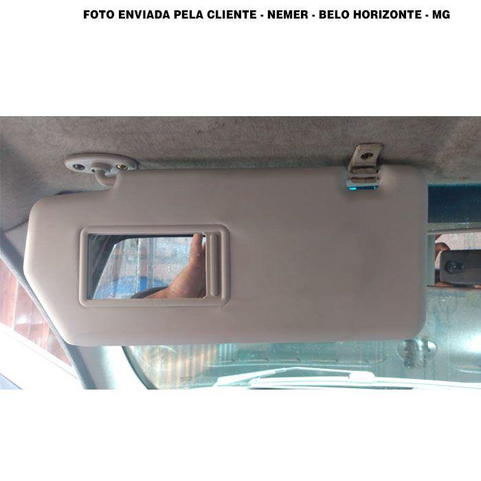 Quebra-Sol Siena e Strada - 2004 2005 2006 2007 2008 2009 2010 2011 2012 2013 2014 2015 2016 - Com Espelho