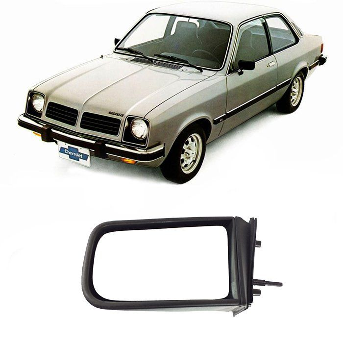 Retrovisor Chevette 1987 1988 1989 1990 1991 1992 1993 - Manual - Retrovex