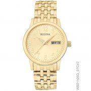 a17726eb5b3 Relógio Bulova Masculino Ref  Wb21105g Slim