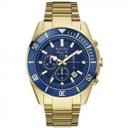 f8e66381d01 Relógio Bulova Masculino Ref  Wb31774z Marine Star Dourado