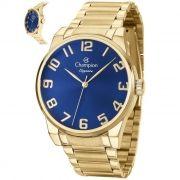 a7fa6372e2b Relógio Champion Feminino Ref  Cn27652a Casual Dourado