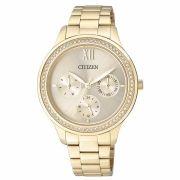 d57a9784e2d Relógio Citizen Feminino Ref  Tz28342g Multifunção Dourado