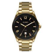 73fab8fe7d8e4 Relógio Euro Feminino Ref  Eu2315hm 4p Color Mix Shine Dourado