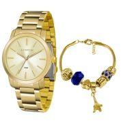 9dc4af62e49 Relógio Lince Feminino Ref  Lrg4506l Ku51c1kx Dourado + Semijóia