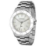 586ce1e9083 Relógio Lince Feminino Ref  Lrmj067l B1sx Casual Prateado