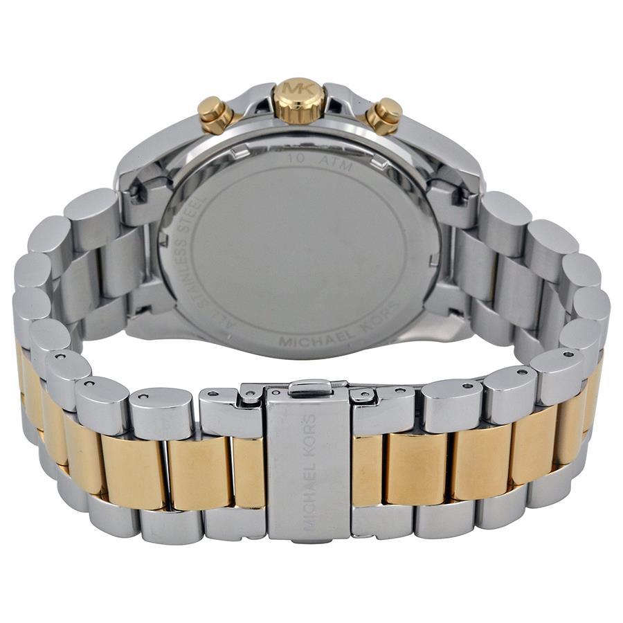... Relógio Michael Kors Feminino Ref  Mk5976 5an Cronógrafo Bicolor -  Relógios Web Shop ... c805413445