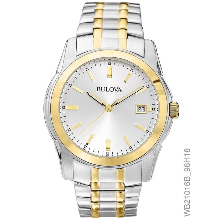 08d89f3205d Relógios Web Shop Relógio Bulova Masculino Ref  Wb21016b Slim