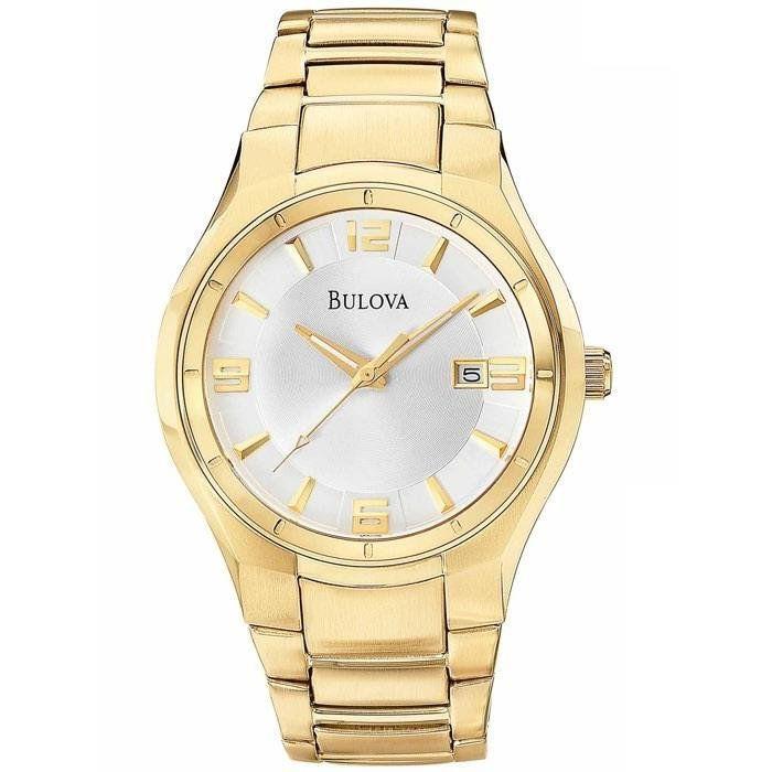 6fc44f92fef Relógio Bulova Masculino Ref  Wb21132h Casual Dourado - Relógios Web Shop  ...
