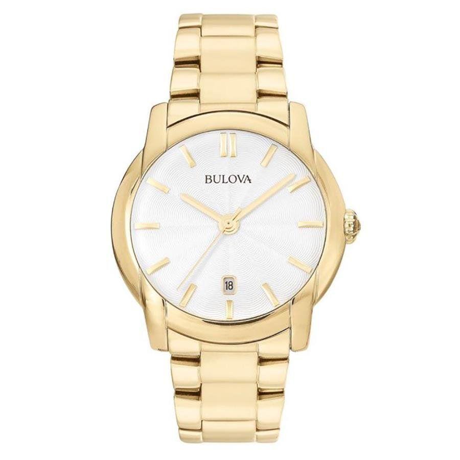 41689af7ba8 Relógio Bulova Masculino Ref  Wb21481h Social Dourado - Relógios Web Shop  ...