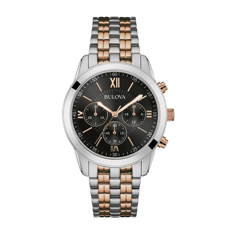 c4b483d473b Relógio Bulova Masculino Ref  Wb22382p Cronógrafo Bicolor - Relógios Web  Shop ...