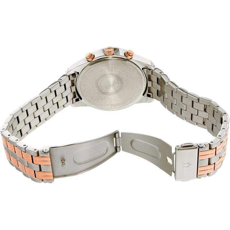 9021d9fcf75 ... Relógio Bulova Masculino Ref  Wb22382p Cronógrafo Bicolor - Relógios  Web Shop ...