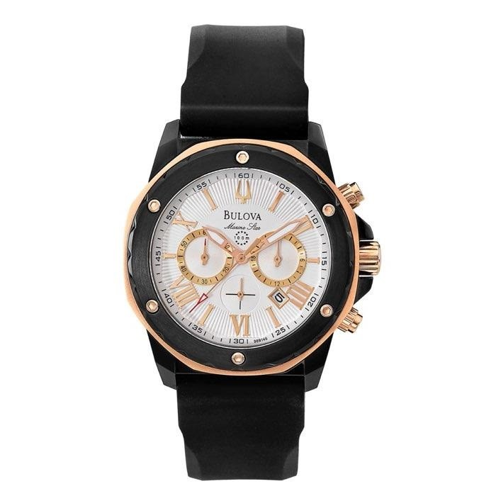 adb019aebf3 Relógios Web Shop Relógio Bulova Masculino Ref  Wb30873b Marine Star Black