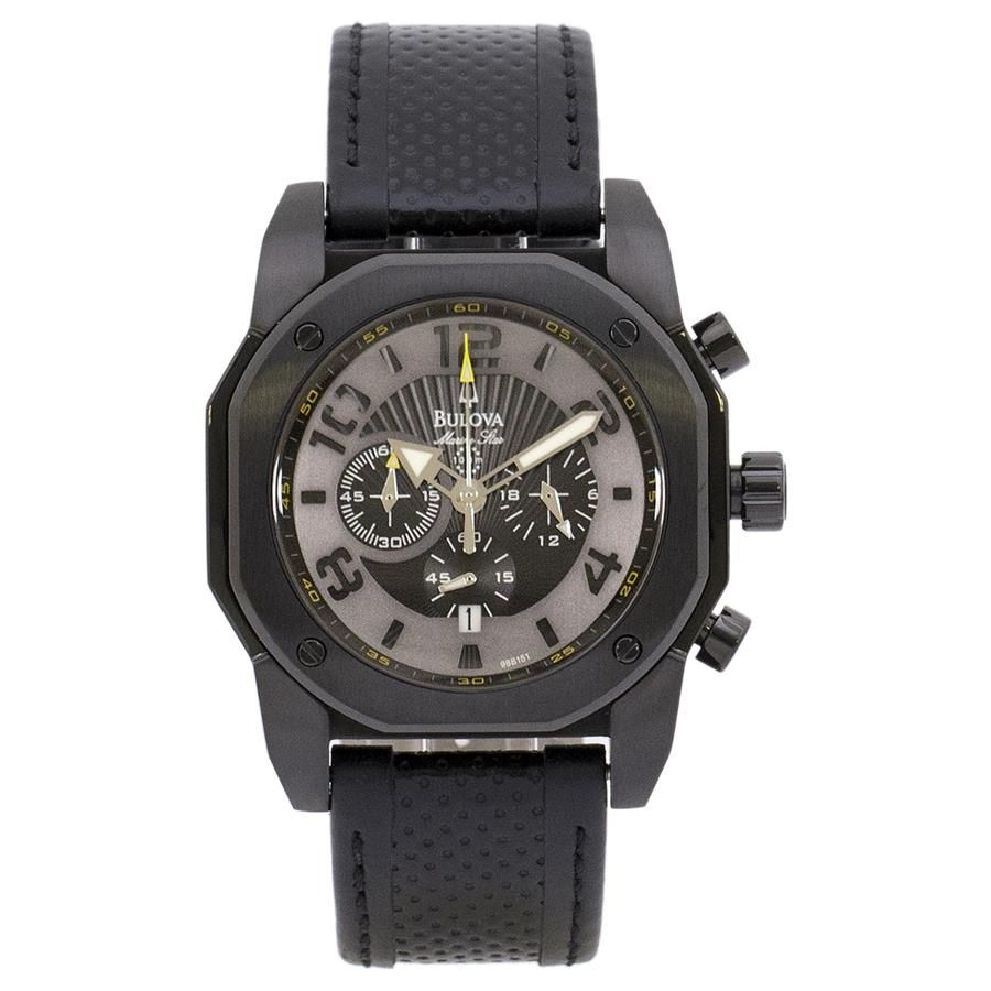 2bbbde2423d Relógio Bulova Masculino Ref  Wb31238p Black Marine Star - Relógios Web  Shop ...