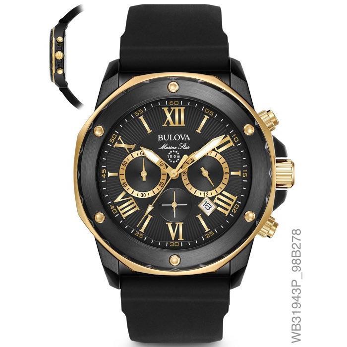 e124211e525 Relógios Web Shop Relógio Bulova Masculino Ref  Wb31943p Marine Star