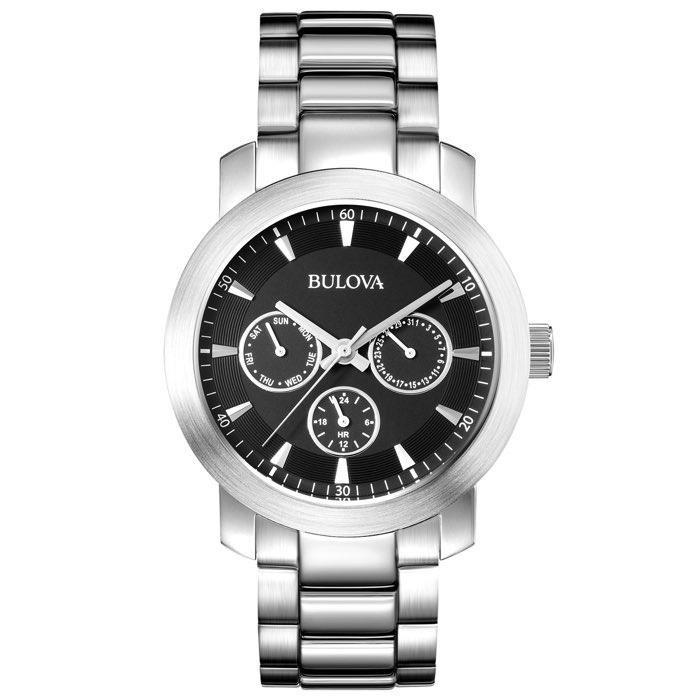 4f2e3752a57 Relógios Web Shop Relógio Bulova Masculino Ref  Wb31970t Multifunção  Prateado