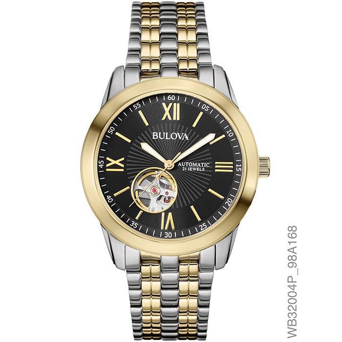 447ccec7986 Relógio Bulova Masculino Ref  Wb32004p Automático - Relógios Web Shop ...