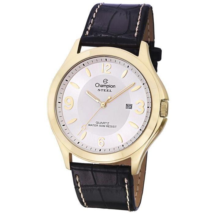 d87ee66e333 Relógio Champion Masculino Ref  Ca21222b Clássico Dourado