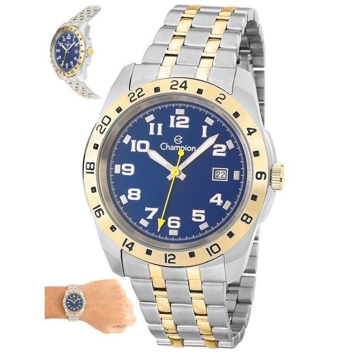 ed4a578d0e9 Relógio Champion Masculino Ref  Ca31346a Casual Bicolor