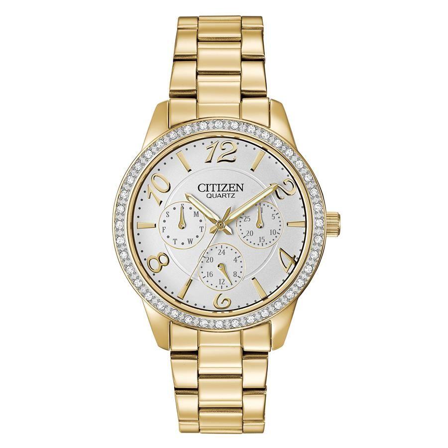 b6ccccf59a7 Relógio Citizen Feminino Ref  Tz28280h Multifunção Dourado - Relógios Web  Shop ...